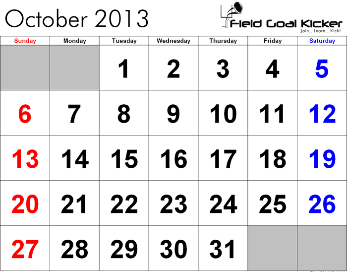 Gearing Up For November!