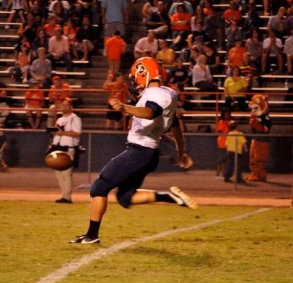 Field Goal Kicker Asher Anders, Summit HS, Tennessee