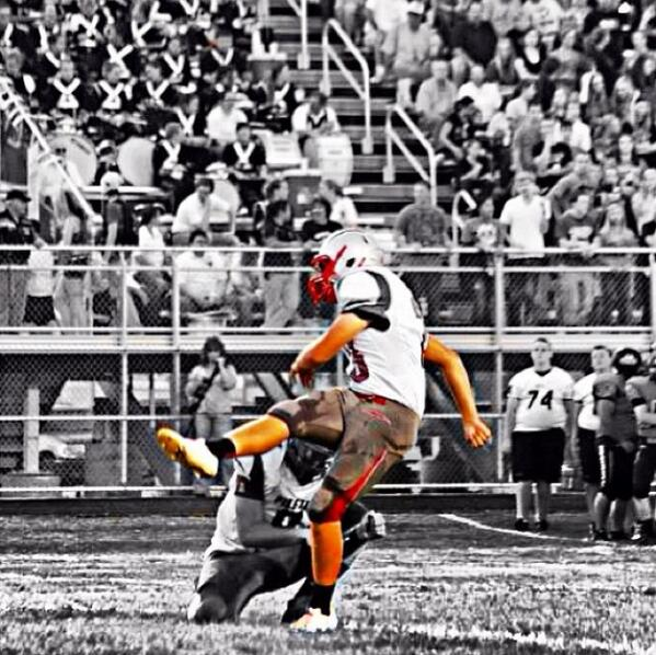 Field Goal Kicker Chase Jones, Piketon HS, Ohio