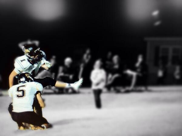 Field Goal Kicker Kyle Johnson, Salina HS, Oklahoma