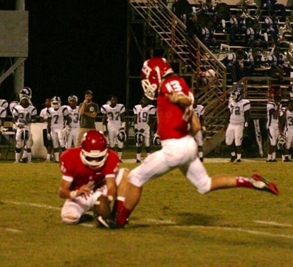 Field Goal Kicker TJ McGettigan, Hewitt Trussville HS, Alabama