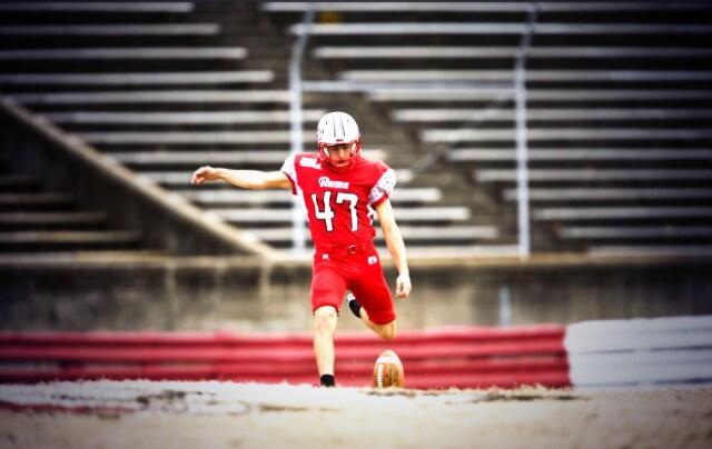 Field Goal Kicker Will Johnson, Winston Salem State University, NC