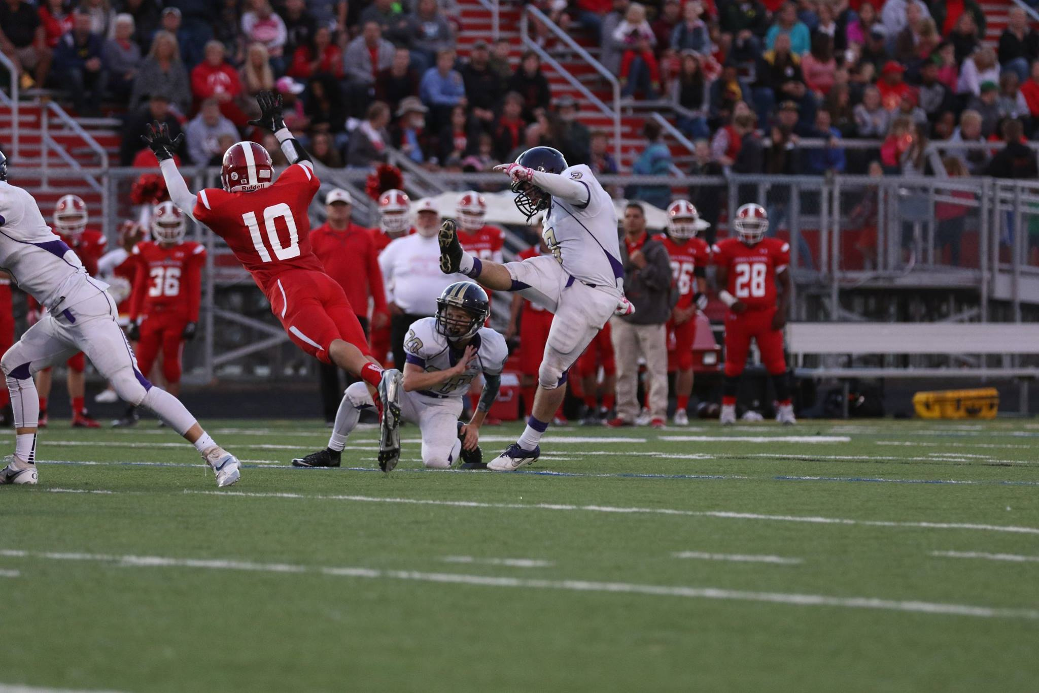 Field Goal Kicker Devin Vestal, Elmira High School