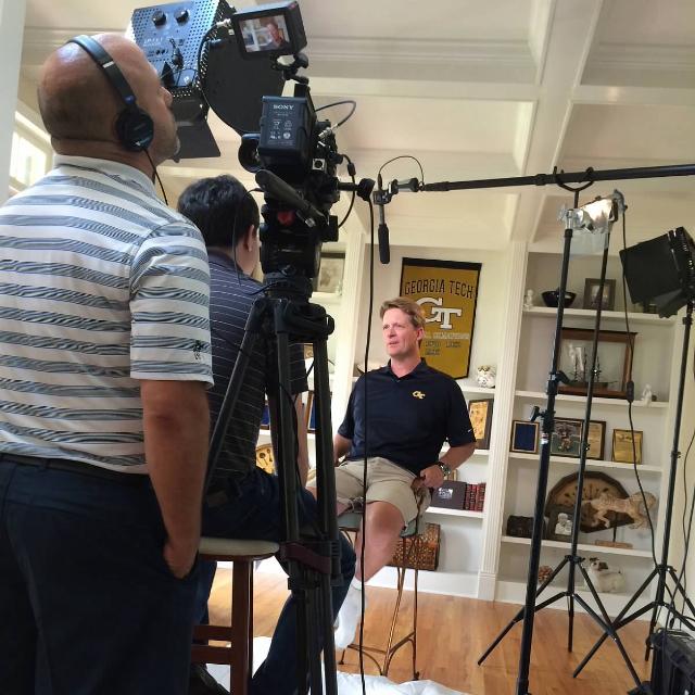 Fox Sports South Filming