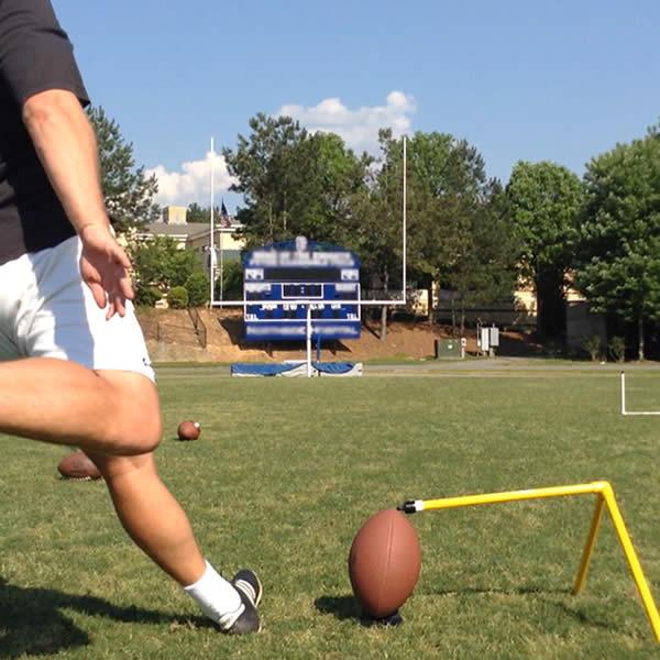 Colossus Football Kicking Holder Kick Approach