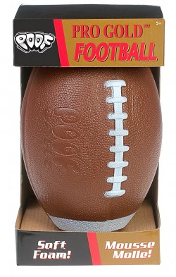 POOF Pro Gold Football for Kicking Practice